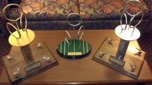 World Cup VI trophies